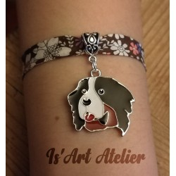 bracelet-fantaisie-liberty-bouvier-bernois@isartatelier